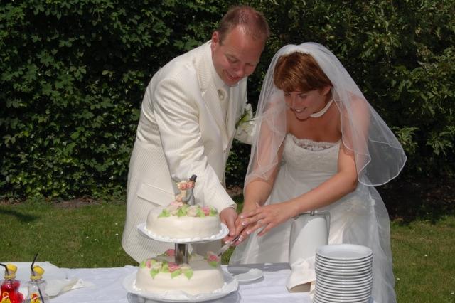 Bruidstaart op ons eiland